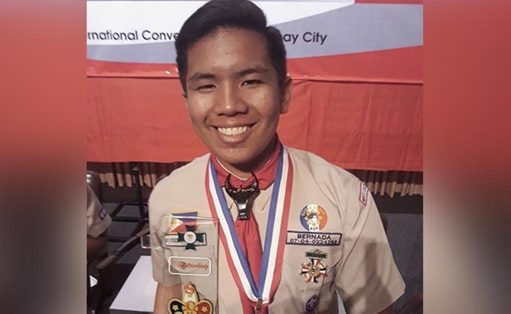 Arnould Jann Aquillo Bernada, Bayani ng Kalikasan from Capiz National High School
