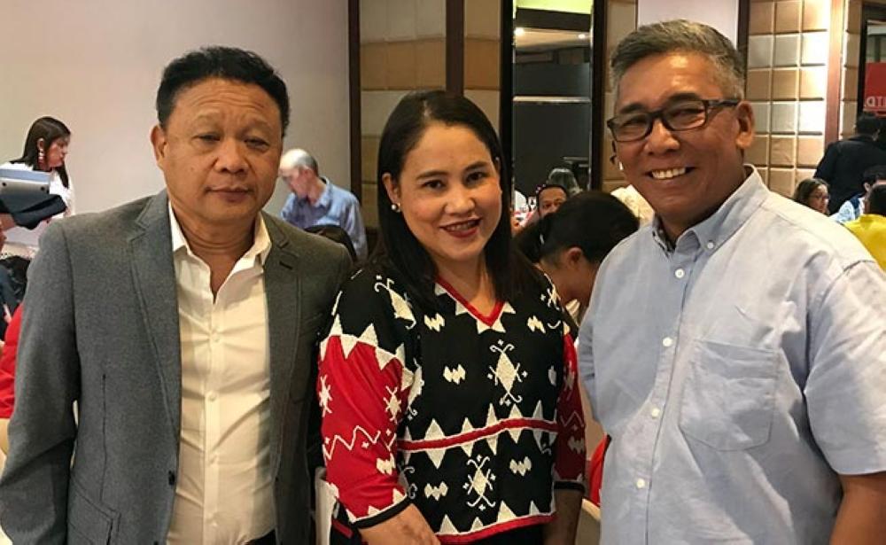 DAVAO. DOT Undersecretary Marco Bautista, DOT Assistant Secretary Eden David, and Philippine Eagle Foundation Executive Director Dennis Salvador.