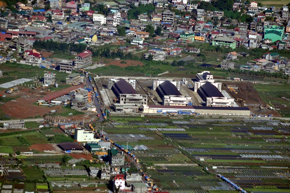 The P400-million Benguet Agri-Pinoy Trading Center serves as hub for traders and farmers in La Trinidad.