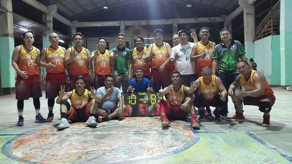 CAGAYAN DE ORO. With Marvin Neri on fire in Game 2, Team Alam Na easily notched its third-straight championship ring in the Green CdeO Eagles inter-color basketball tourney. (Lynde Salgados)