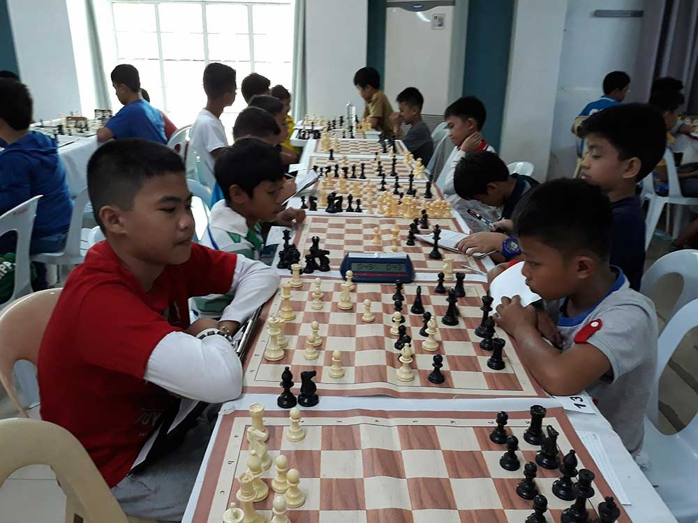 DAVAO. Only three Davao City players qualified to the National Age-Group Chess Championships (NAGCC) grand finals due to the tough competition coming from different areas of the country in the recently-concluded NAGCC-Mindanao Leg held at Baywalk Hotel in Mati City, Davao Oriental. (James Infiesto)