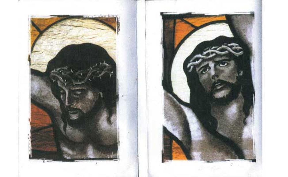 Messiah. Jesus Christ on the cross, dying, that mankind may have eternal life.
