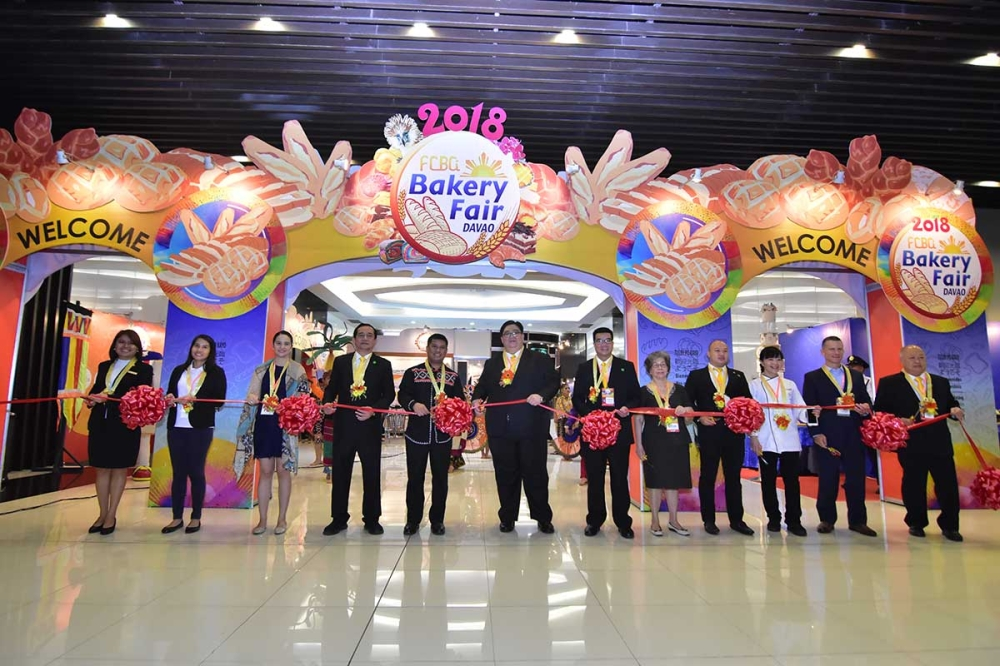 DAVAO. The opening of the first Bakery Fair in Davao City which was done from March 1 to 3, 2018 was led by the officers Chinese Bakery Association, Inc. (FCBAI), Davao Bakers Club, Mindanao Cake Decorating Society, and representatives of the Davao City government and of private partners of the fair.