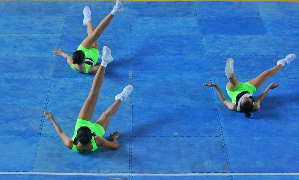 Palaro experience. DepEd sports coordinator Francis Ramirez says gymnasts and the rest of the Region 7 delegation are used to taking long trips to get to the Palarong Pambansa. (SunStar File)