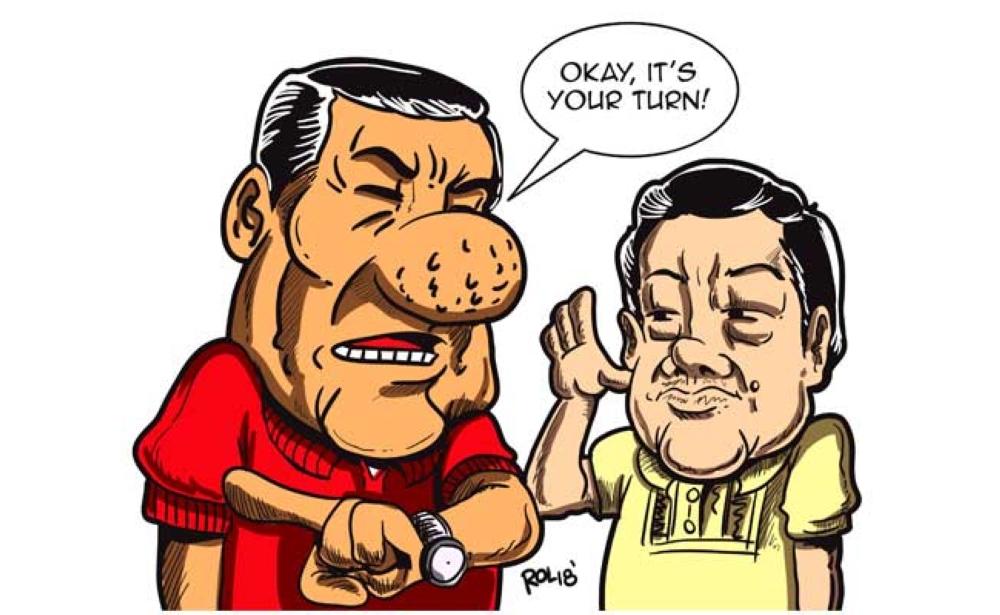 Editorial Cartoon by Rolan John Alberto