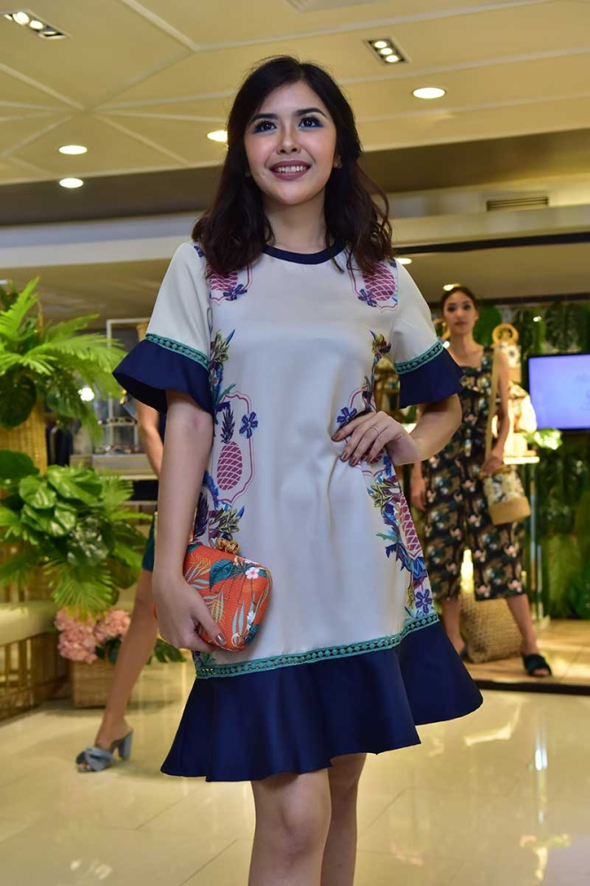 DAVAO. Chimes Boutiques officially introduces to Dabawenyos Plains and Prints' latest collection. (Macky Lim)
