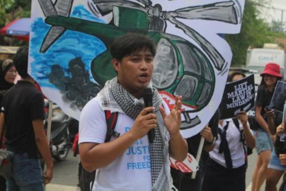 Jerome Aba. (Photo courtesy from Bulatlat.com)