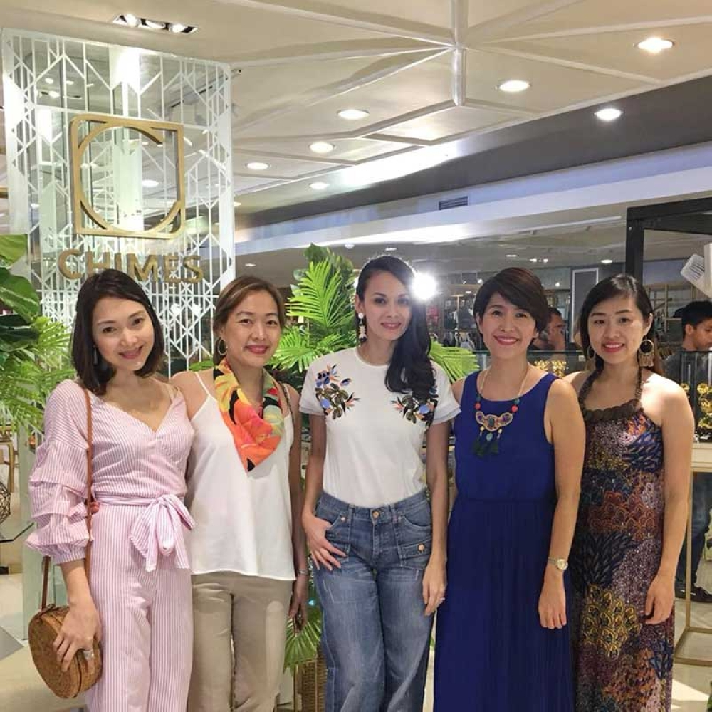 DAVAO. (From left) Erika Soriano-Mata, Dr. Jennifer Lim, Amina Aranáz-Alunan, Janette Teves, and Dr. Maricel Huang