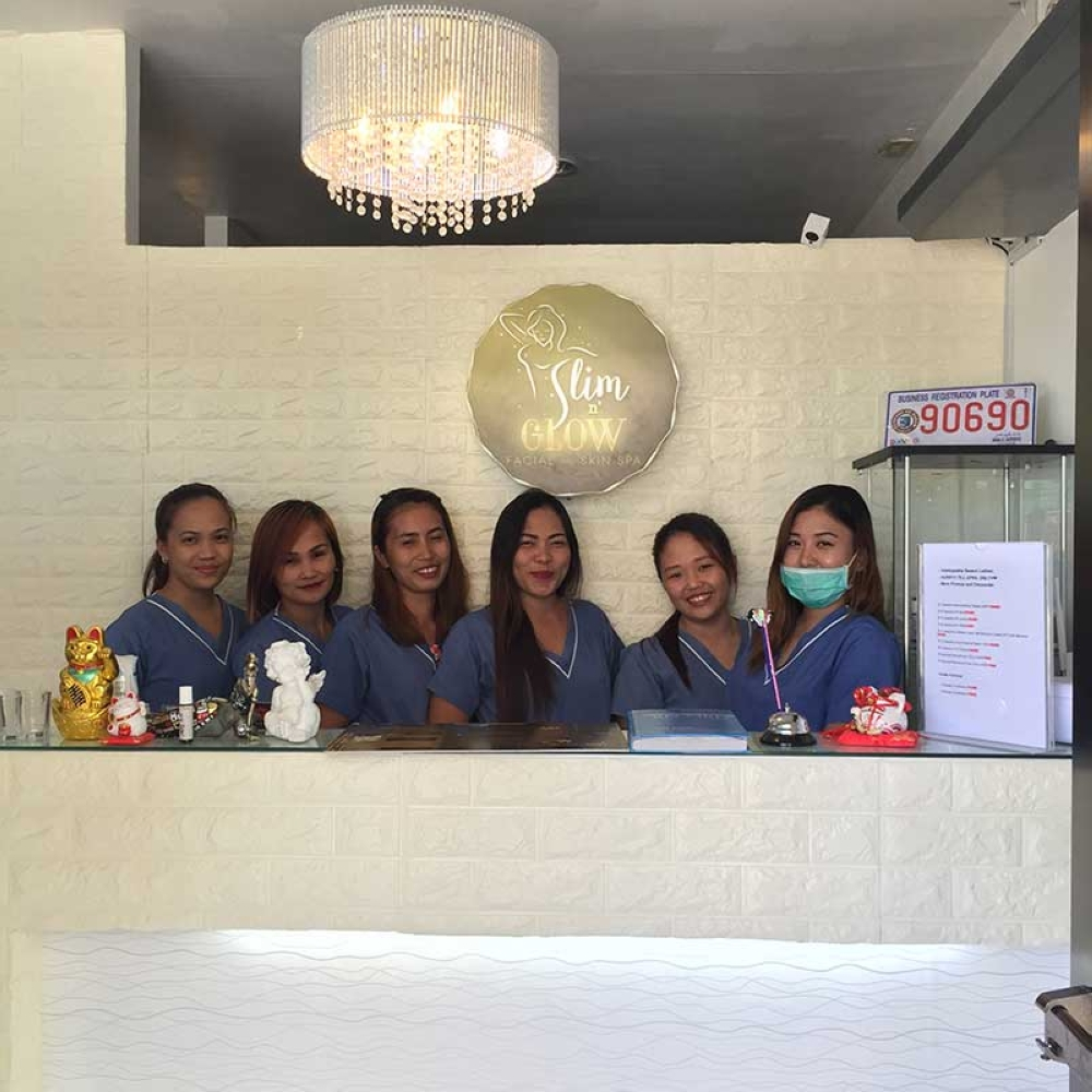 DAVAO. Slim N' Glow Facial and Skin Spa with its professionally-trained staff at their Mabini Commercial Complex branch. Their Matina branch is set to open this June, while another one at Damosa, Lanang is undergoing paperwork.