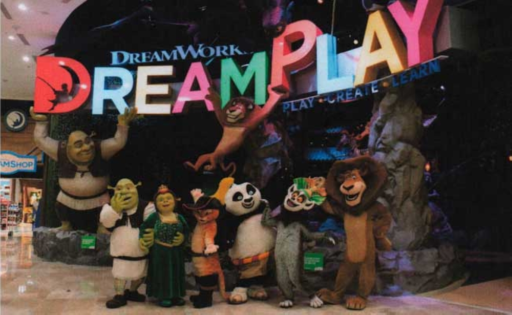 Play. Dreamplay by Dreamworks, the world's first Dreamworks-inspired interactive playspace.