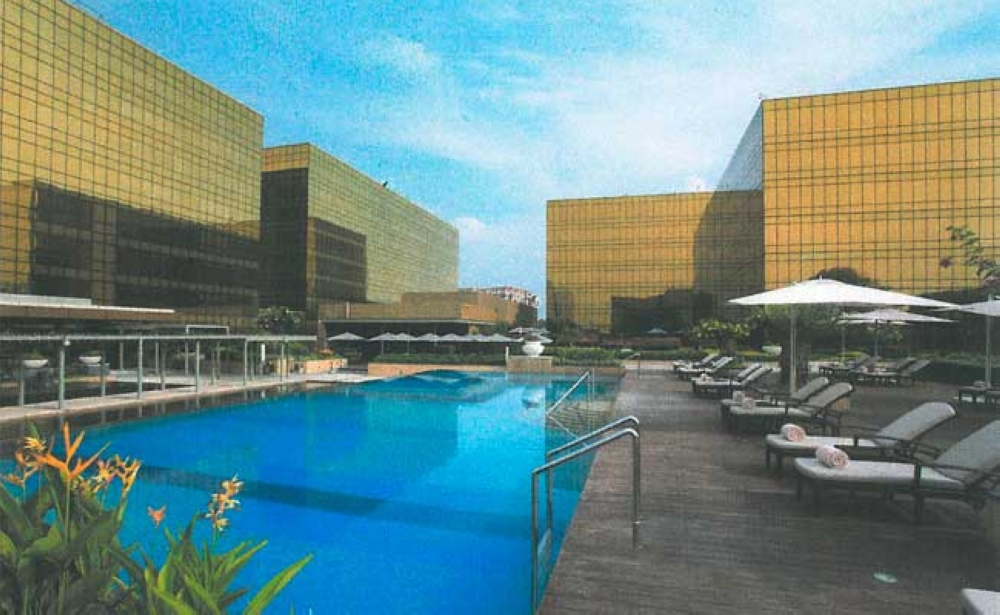 A panoramic view of the City of Dreams, located on a 6.2 hectare site, the integrated resort complex boasts of a collection of leisure and lifestyle (hotel) brands like Crown, Nobu and Hyatt.