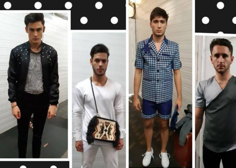 A collage of Dodjie Batu's collection.