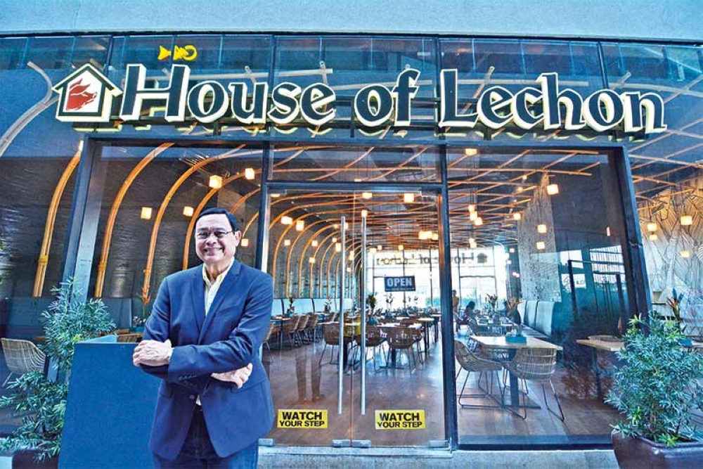 THEY'RE ON THE SAME PAGE. Some 15 years ago, Bunny Pages and his family began a business that has now grown to encompass 17 brands, including House of Lechon. Differences are inevitable even in a family, he points out, but certain strategies like keeping communi-cation lines open can definitely help. (SunStar photo/Amper Campaña)