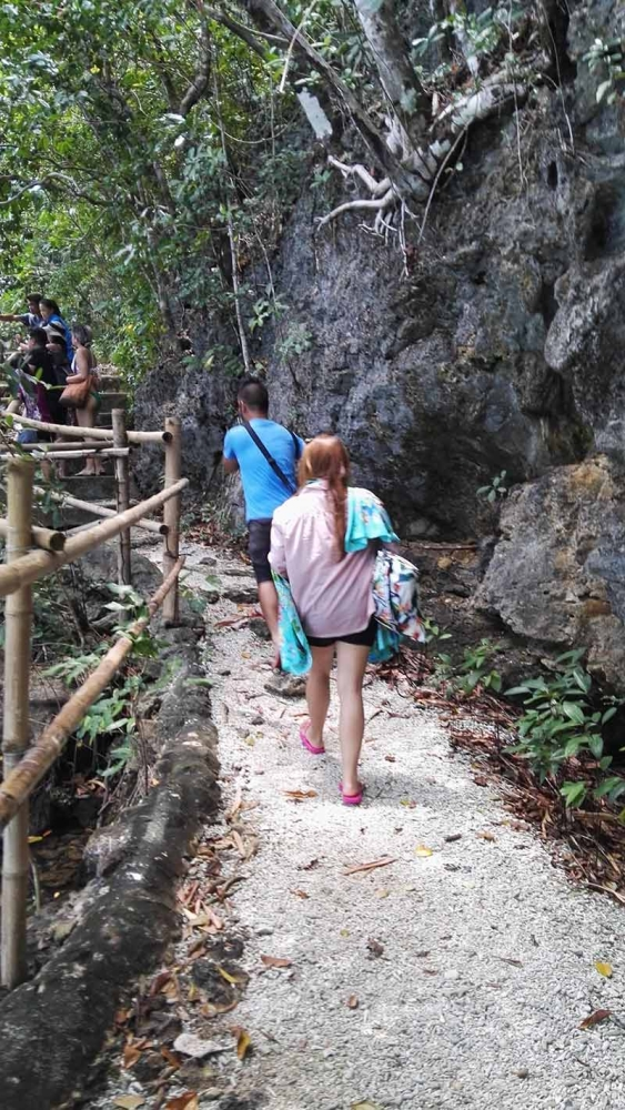 NEGROS. Trekking through the forest of Danjugan Island brought us closer to nature. (Claire Marie Algarme)