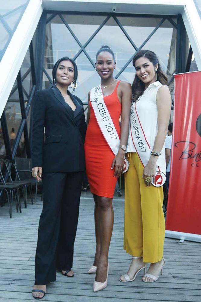 Maria Gigante, Apriel Smith & Samantha Ashley Lo (SunStar photo / Alex Badayos)