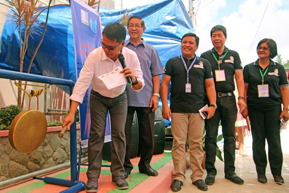 BAGUIO. Tesda-Cordillera Director Efren Piñol formally opens the three-day Philippine National Skills Competition on restaurant services and cooking pre-qualification with participants from Ilocos, Cagayan Valley, Cordillera, Zamboanga Peninsula and Davao. (Milo Brioso)