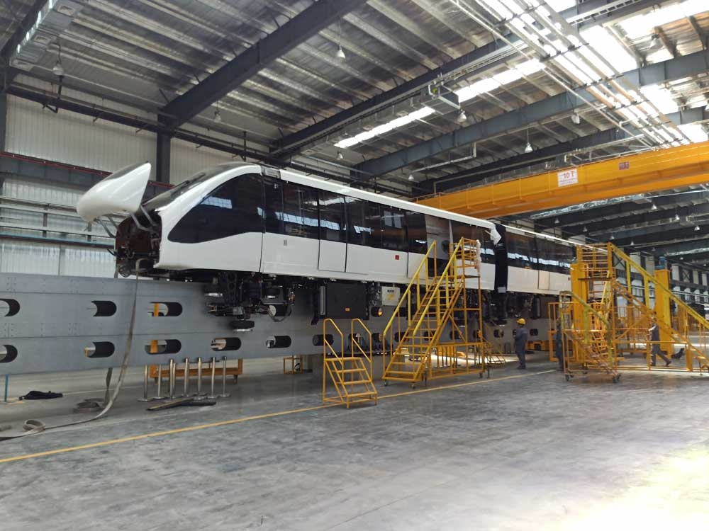Monorail. The Bombardier coach assembled by China Railway Rolling Stock Corp. (CRRC) – Puzhen Bombardier Transportation System (PBTS). (Contributed Foto)