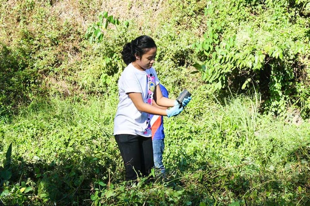 Planting trees in Barangay Granada was so much fun