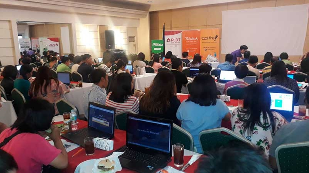 At least 100 local micro, small and medium enterprises participate in the #Ready Economic Growth, Education and Awareness activity of PLDT Inc. in collaboration with Department of Trade and Industry–Negros Occidental held at O' Hotel in Bacolod City yesterday, May 10. (Erwin P. Nicavera Photo)