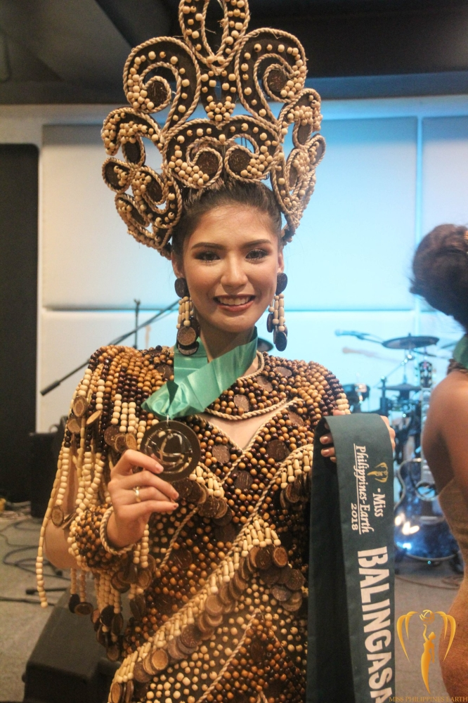 Misamis Oriental bet Berjayneth Goc-Ong Chee with stunning Kuyamis-inspired cultural attire during the Cultural Attire Competition on Thursday night, May 10, at Patio Victoria in Intramuros, Manila. (Photo from Miss Earth Philippines Facebook page)
