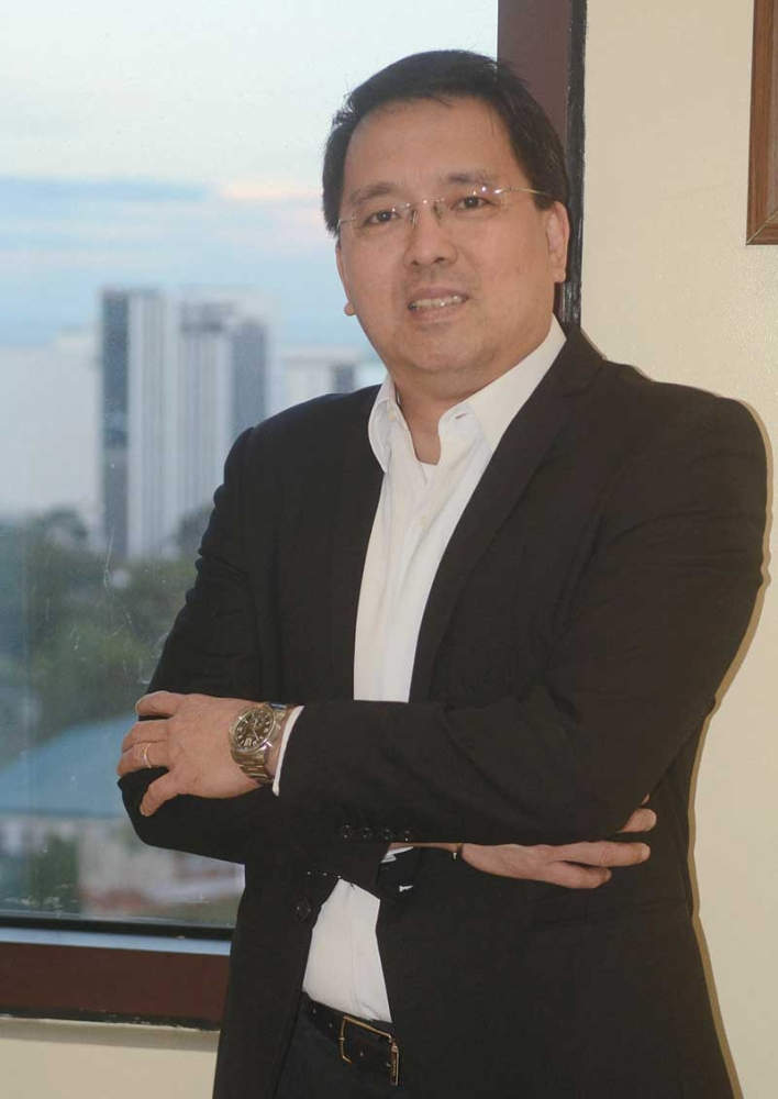 AN EYE ON growth: Benedict Que, president of Golden Prince Hotel and Suites, also serves as overall chair of Cebu Business Month this year. (SunStar photo / Arni Aclao)