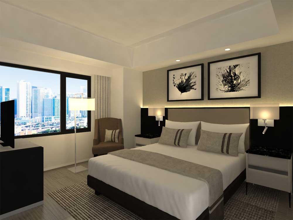 Seda Ayala Center Cebu Deluxe Room.