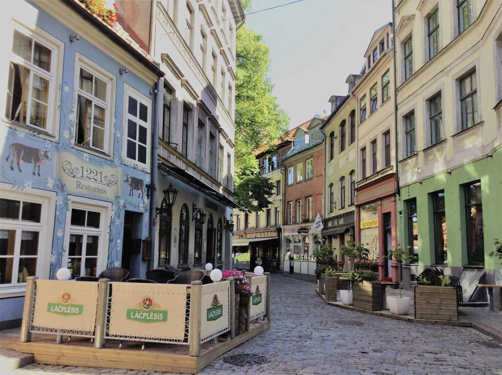 Jauniela is a picturesque street used in films. We stayed at the Neiburgs Hotel on this street. (Photo/Melanie T. Lim)