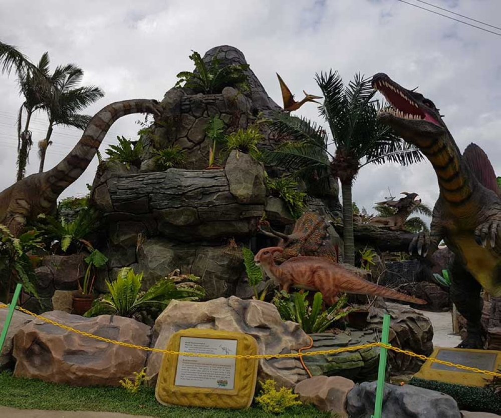 New attraction of Campuestohan, the Ram's Dino Park