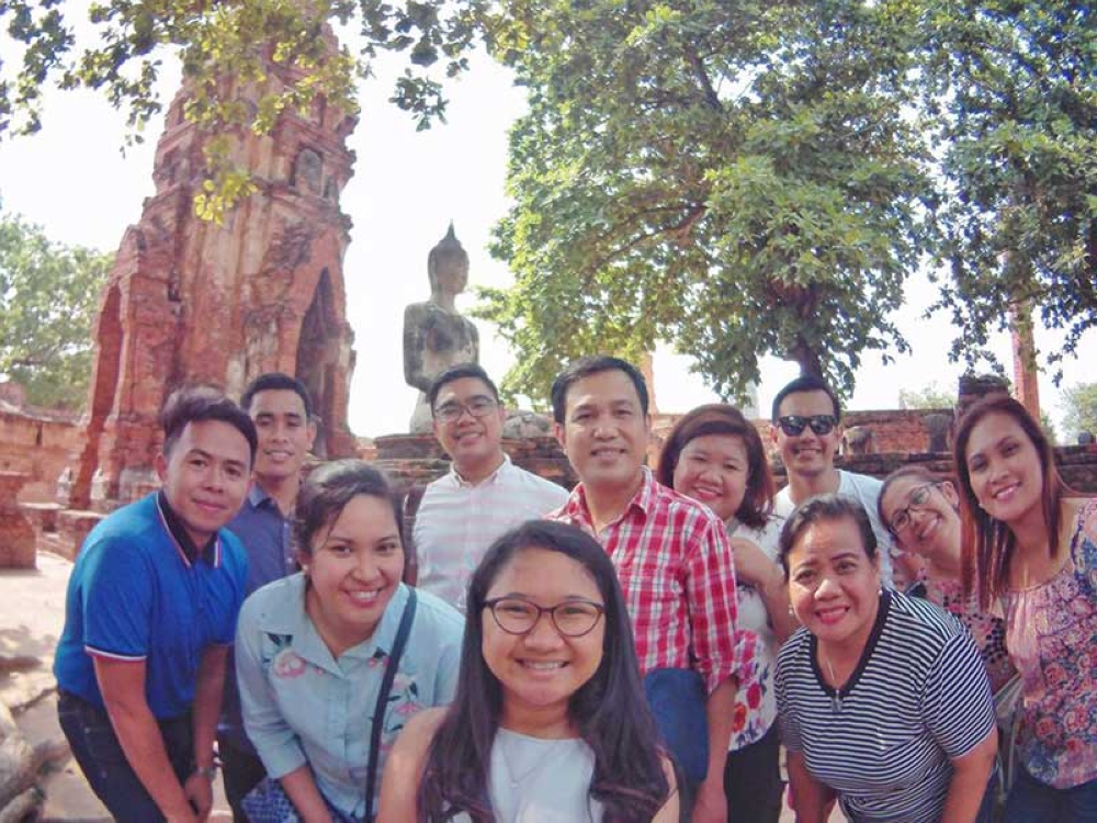 During our visit to Wat Mahathat