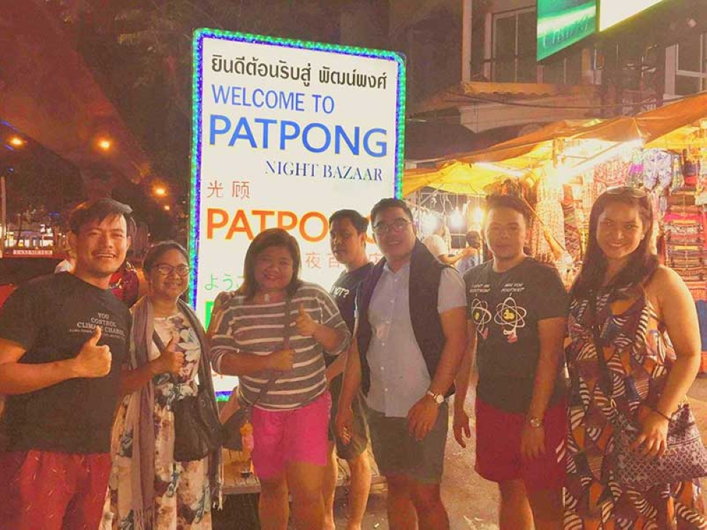 Experiencing Thailand's nightlife in Patpong