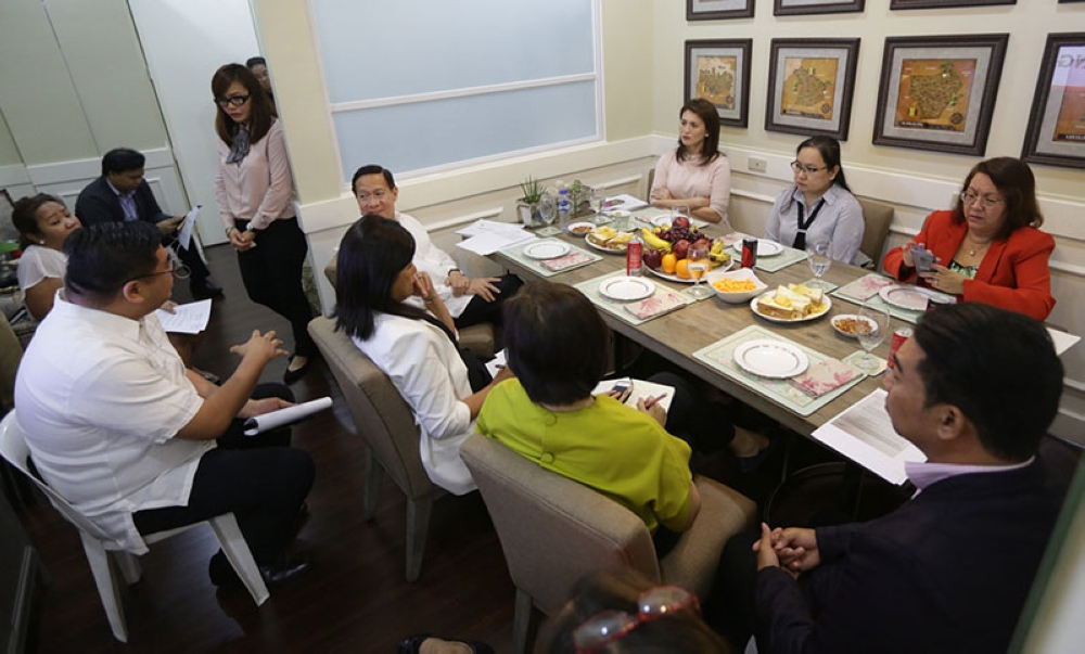 MANILA. Leyte Rep. Yedda Marie Romualdez meets with Department of Health Secretary Francisco Duque in her office at the House of Representatives to discuss about the lawmaker's healthcare initiatives under her district and in Eastern Visayas on May 16, 2018. (Photo courtesy of Ver Noveno)