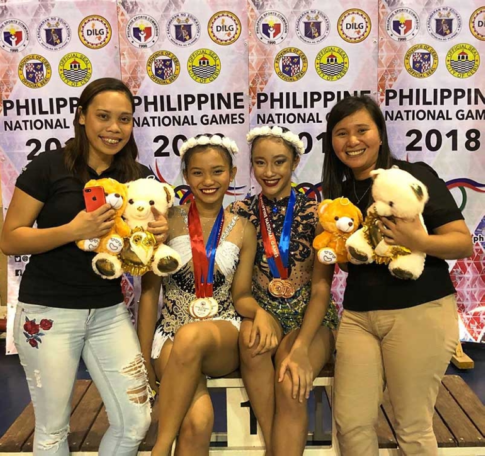Bacolod gymnasts win medals in 2018 Philippine National Games ...