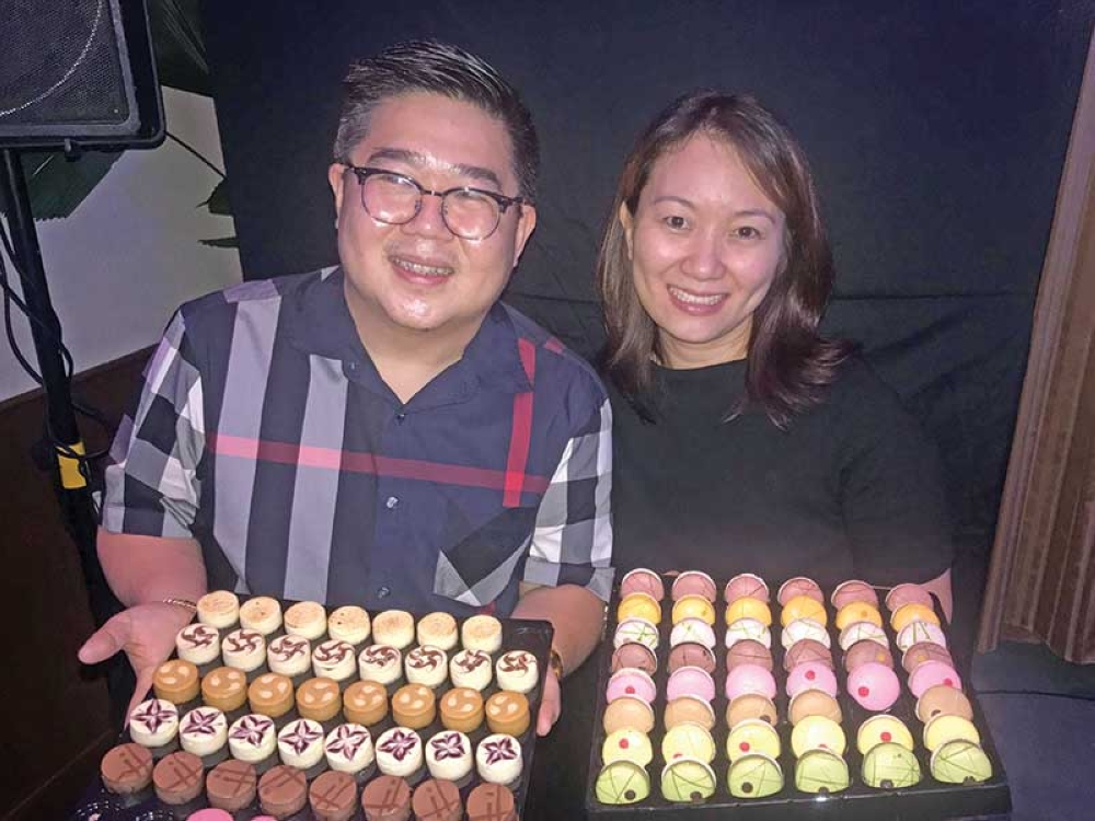Anthony & Jen Ang will be serving sweet French delights in Union Market at the Azuela Cove soon.