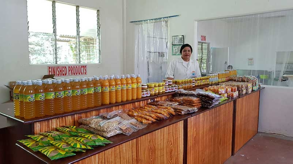 Entrepreneur Rebecca Tubongbanua, founder of Mc Nester Food Products, uses mangoes to process various food products that are now known to many.
