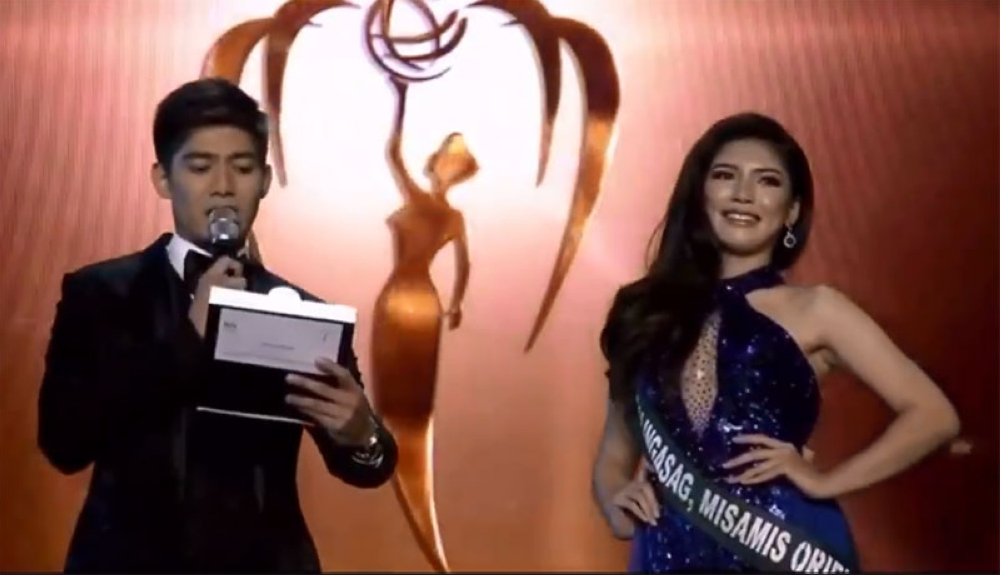Screenshot from Miss Earth 2018 Facebook live