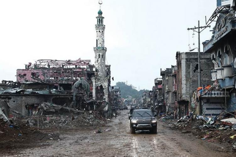 Marawi City after the armed conflict (File Photo)