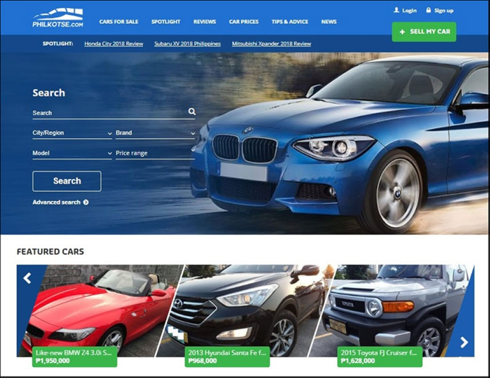 Philkotse.com offers a reliable source to buy and sell cars in the Philippines.