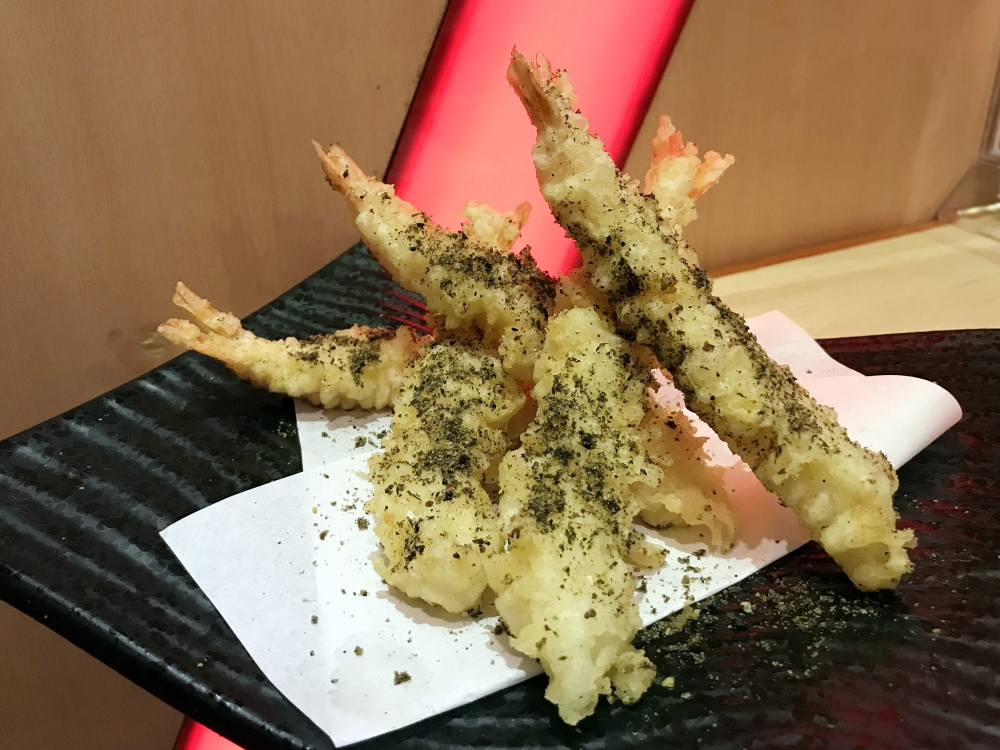 New on the menu - the Umami Tempura