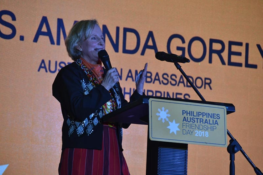 DAVAO. Amanda Gorely, Australian Ambassador to the Philippines, said it is important to educate Australian investors on the opportunities in Mindanao and at the same time help them understand the true situation of the island. (RJ Lumawag)