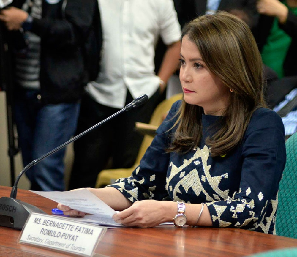 MANILA. Tourism Secretary Bernadette Romulo-Puyat was recommended for confirmation by the Commission on Appointments on Tuesday, May 29, 2018. (Alfonso Padilla/SunStar Philippines)