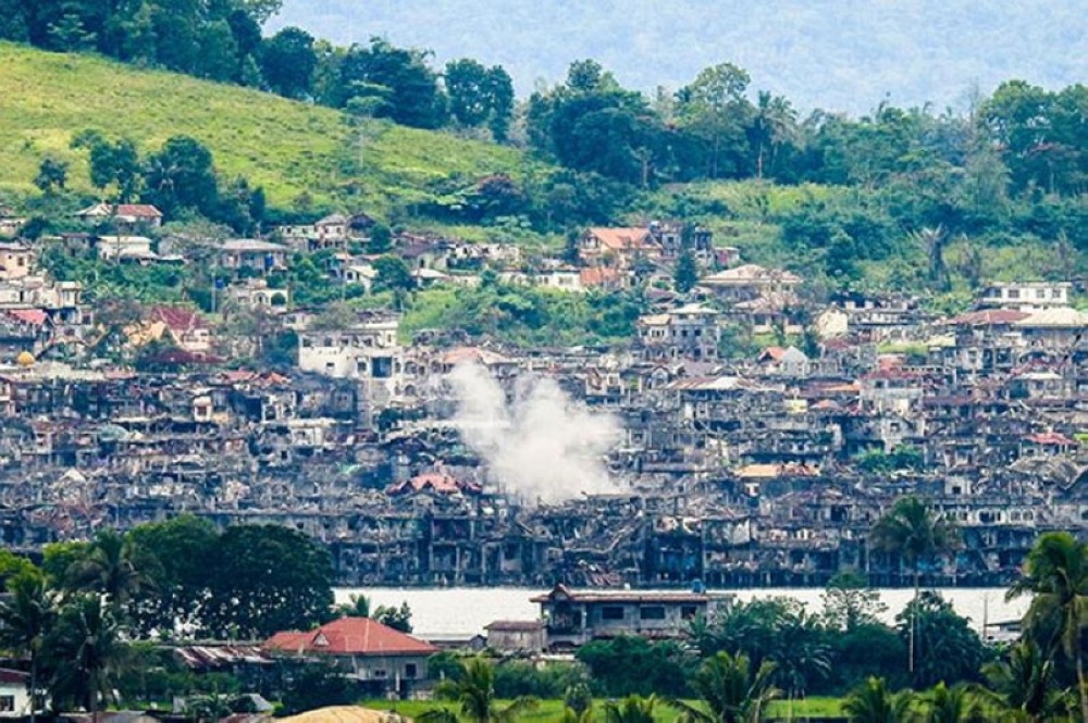 MARAWI. The Islamic City of Marawi in Lanao del Sur was left in ruins after a five-month armed conflict between government troops and the Maute group, which is composed of fighters inspired by global terror group Islamic State. (File Photo)