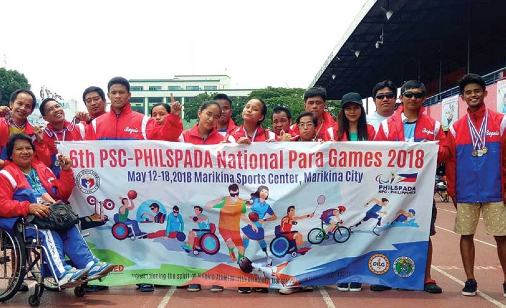 BAGUIO. The 20 strong PWD athletes from the Summer Capital recently brought home 10 golds, 14 silvers and eight bronze medals in the recently concluded Philspada Para National Games held in Marikina City Sports Complex, an inch closer to the Asean Para Games in 2019 that will be hosted by the Philippines. (Paul Rillorta)