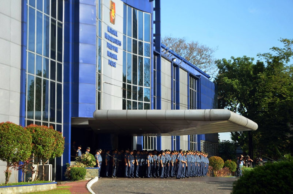 MANILA. In this photo taken on May 14, 2018, police officers prepare to participate in the flag ceremony at Camp Crame. (Alfonso Padilla/SunStar Philippines)