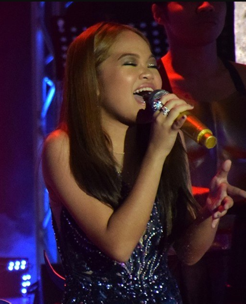 Janine Berdin (Photo courtesy of ABS-CBN)