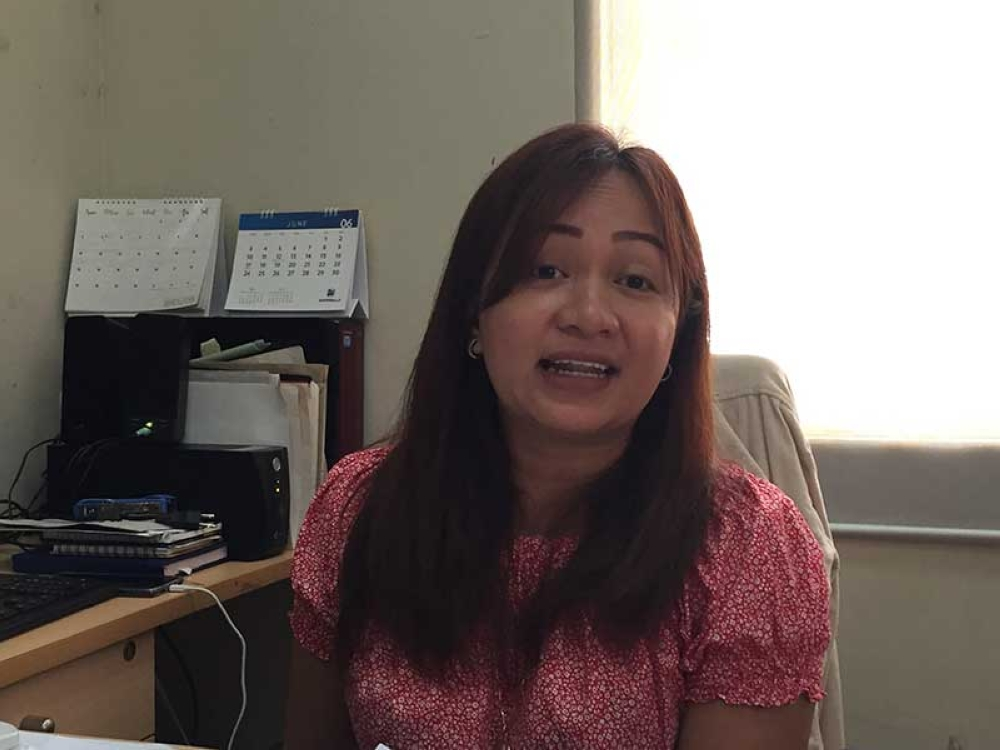 BACOLOD. Bacolod City Permits and Licensing Division Head Stela Rose Rayos.
