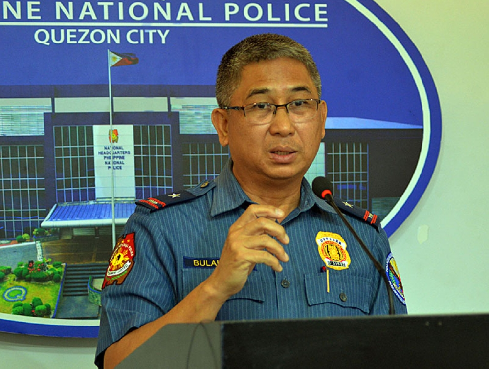 MANILA. In this photo taken on May 14, 2018, Chief Superintendent John Bulalacao explains security preparations for the 2018 Barangay and SK elections. (Alfonso Padilla/SunStar Philippines)