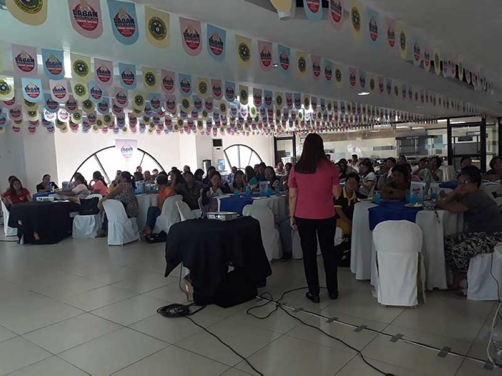 ILOILO. City Government through City Health Office conducted series of training for Barangay Health Workers (BHWs) at City Hall recently in the implementation of Reaching Every Purok strategy under Expanded Immunization Program. (Photo grabbed from Iloilo City Government)