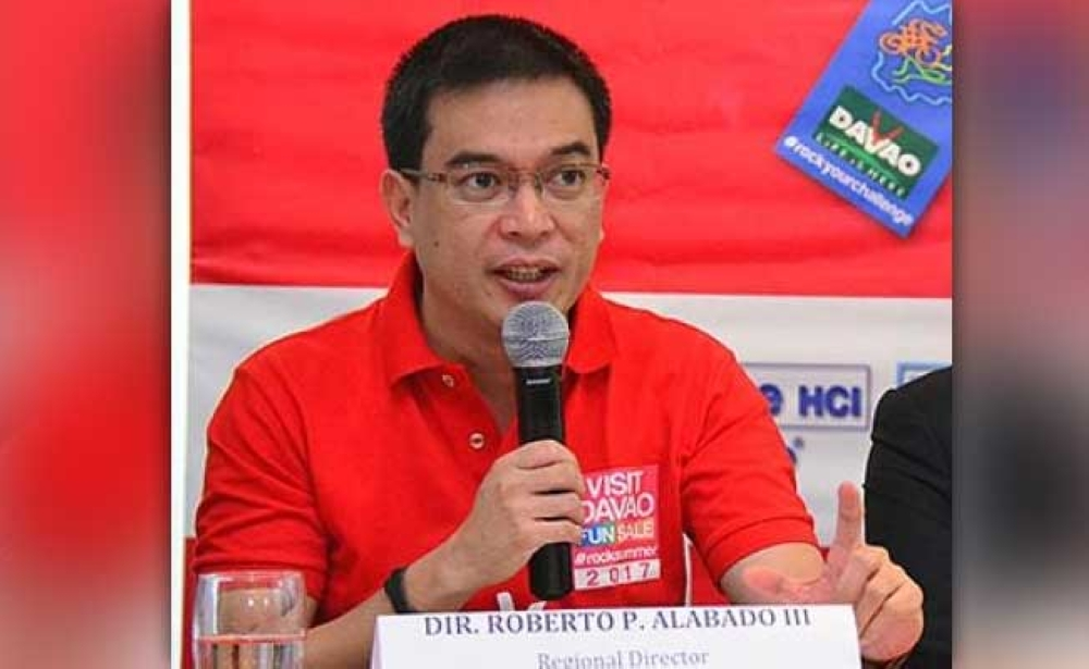 """DAVAO. Roberto """"Robby"""" Alabado III has been appointed as  an assistant secretary of the Department of Tourism. (File Photo)"""