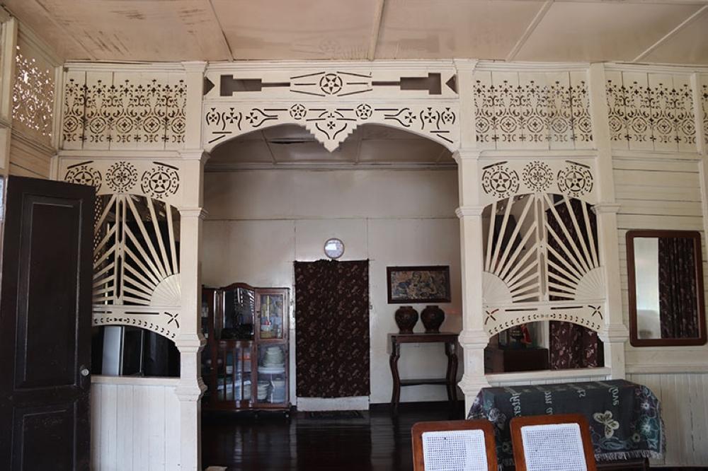 Inside the Alegado ancestral house.