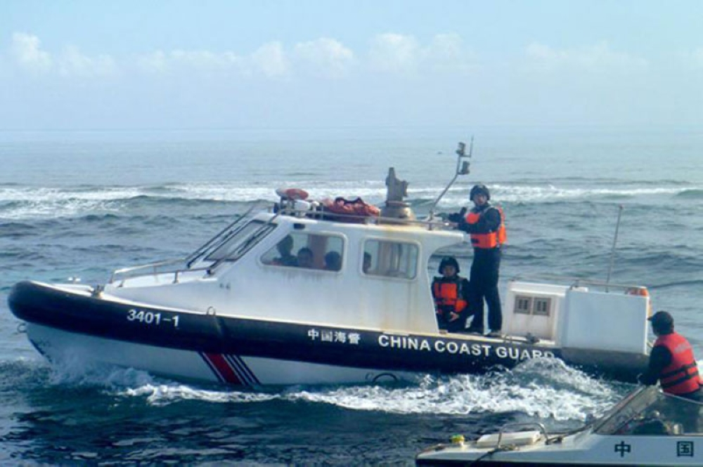 WEST PHILIPPINE SEA. The Chinese Coast Guard has control over the disputed Scarborough Shoal in the West Philippine Sea (WPS). Fisherman Romel Cejuela says he does not see the Philippine Coast Guard in the area. (File Photo)
